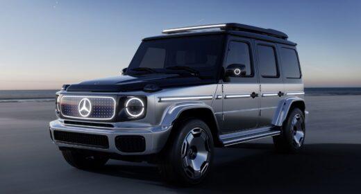 Mercedes EQG 2022