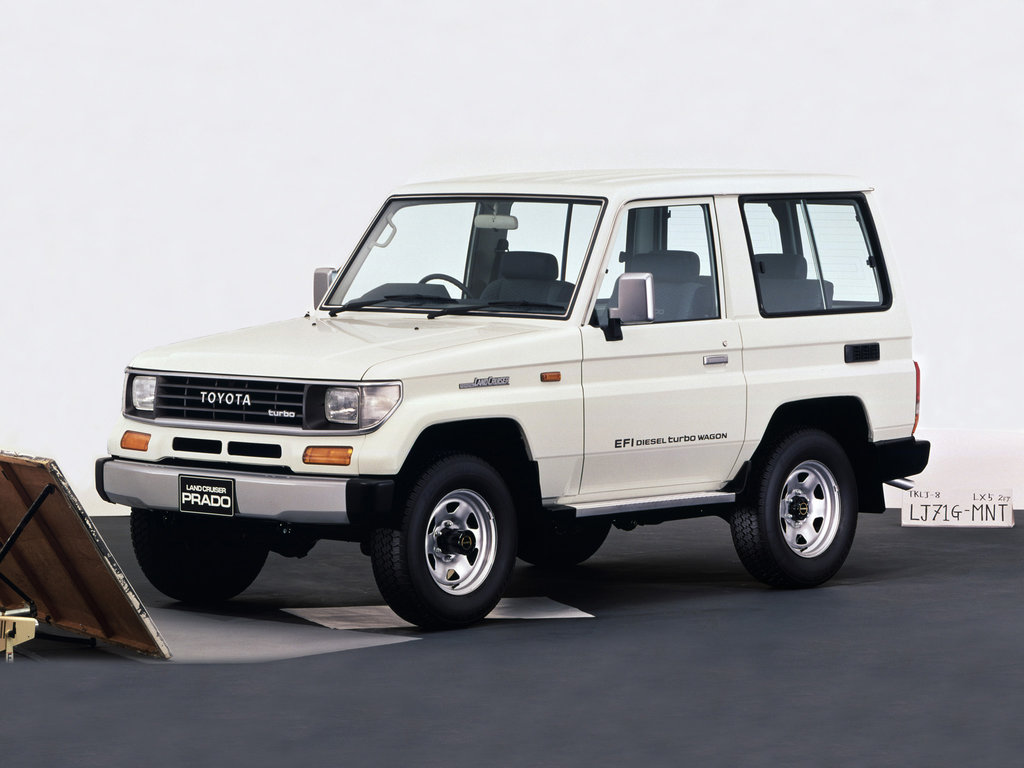 Toyota Land Cruiser Prado 1