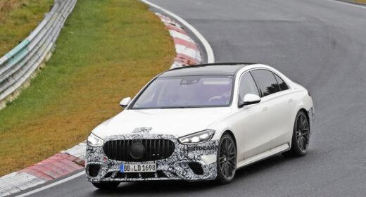 Mercedes AMG S63e 223